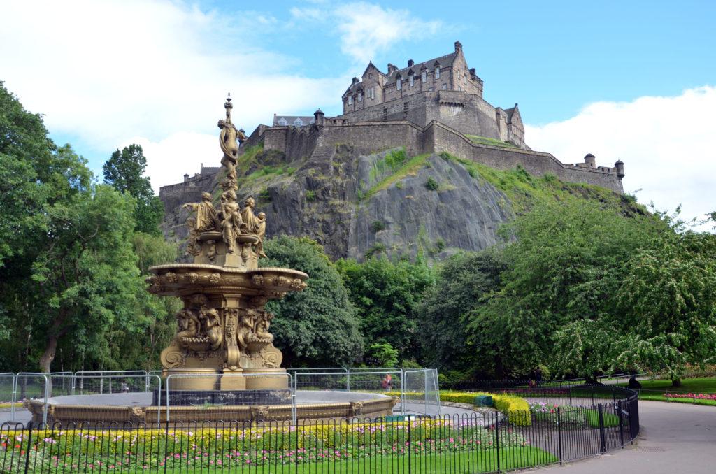 Edinburský hrad