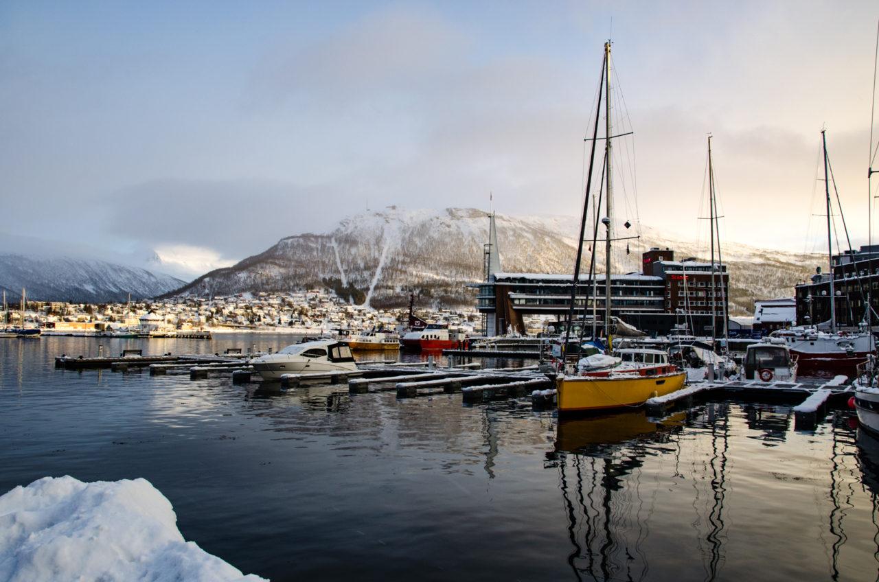Prístav v Tromse