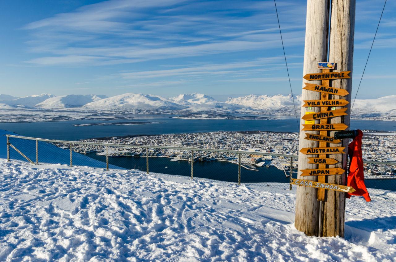 Výhľad z Fjellheisenu