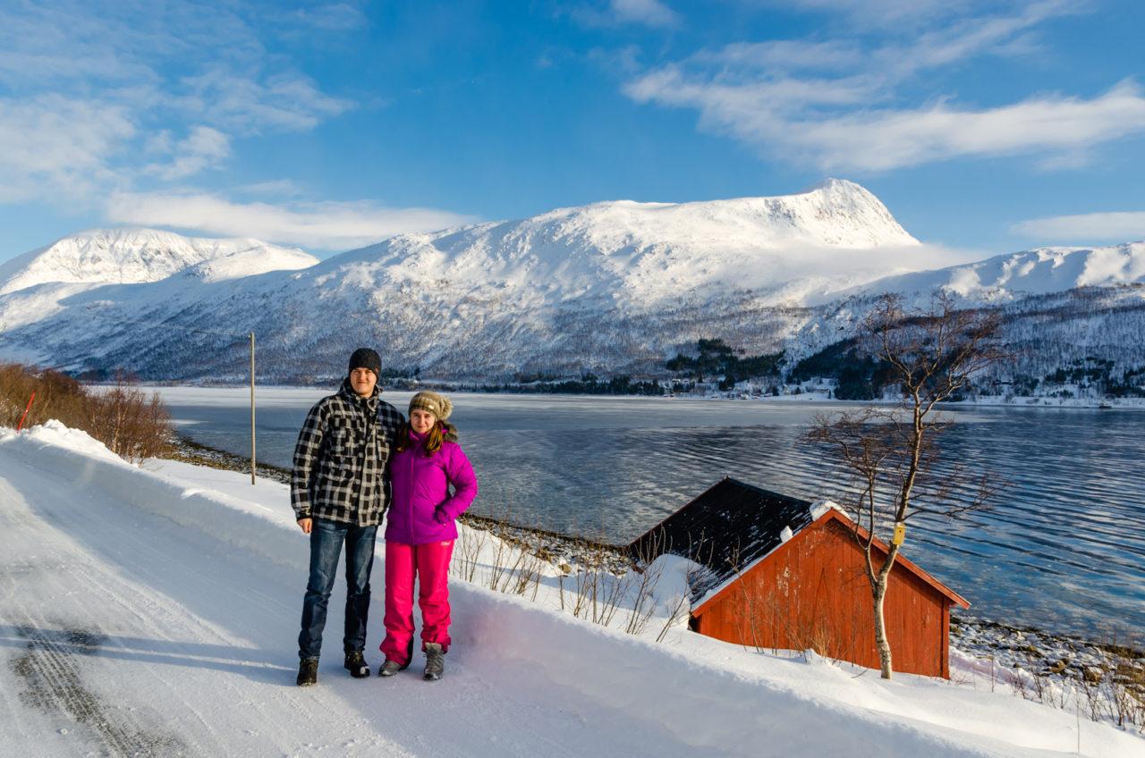 Krásna príroda nórskych fjordov