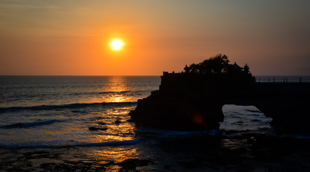 Bali západ slnka