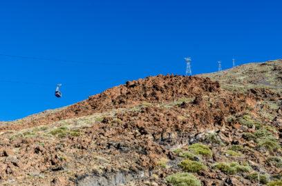 Lanovka na sopku Pico el Teide
