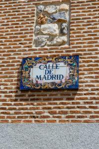 Označovanie ulíc v Madride