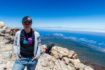 Pohľad na ostrov zo sopky Pico el Teide