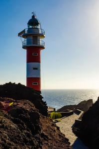 Maják Punta de Teno na najzápadnejšom cípe Tenerife
