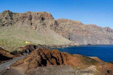 Skalné útvary na Punta de Teno