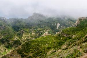 Horská oblasť v Anage