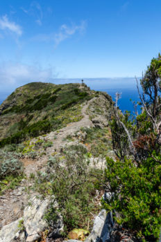 Cesta po hrebeni hory, Anaga