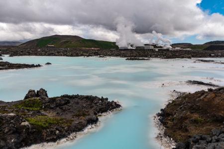 Najznámejšie islandské kúpalisko Blue Lagoon