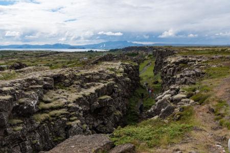 Medzikontinentálny zlom v národnom parku Thingvellir