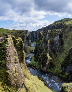 Kaňon Fjaðrárgljúfur