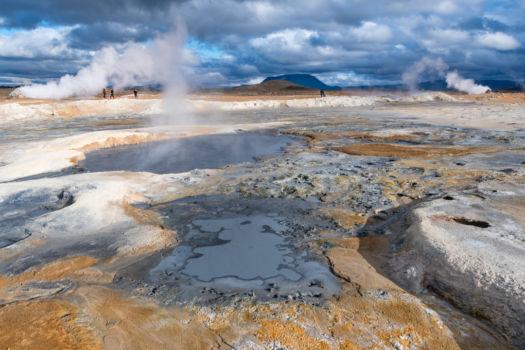 V geotermálnych zónach to často vrie...