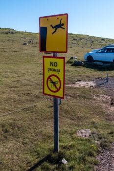 Látrabjarg - Zákaz dronov :-)