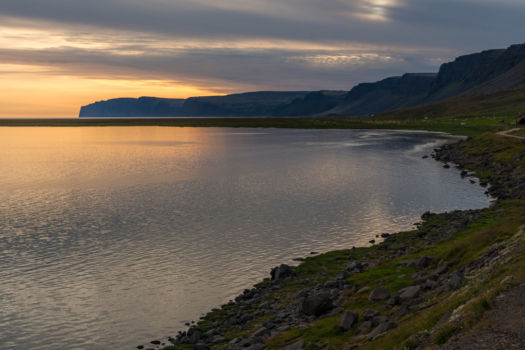"""Pláž Rauðisandur, """"bohužiaľ"""" s prílivom"""