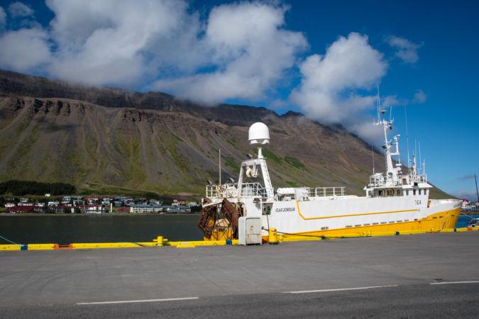 Prístav v Isafjordure